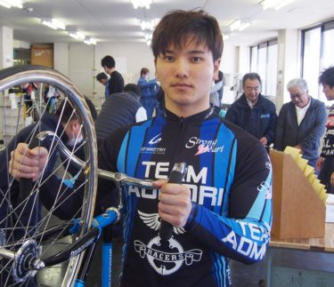 競輪界が誇るイケメンルーキー嵯峨・昇喜朗選手に迫る 113期期待の星