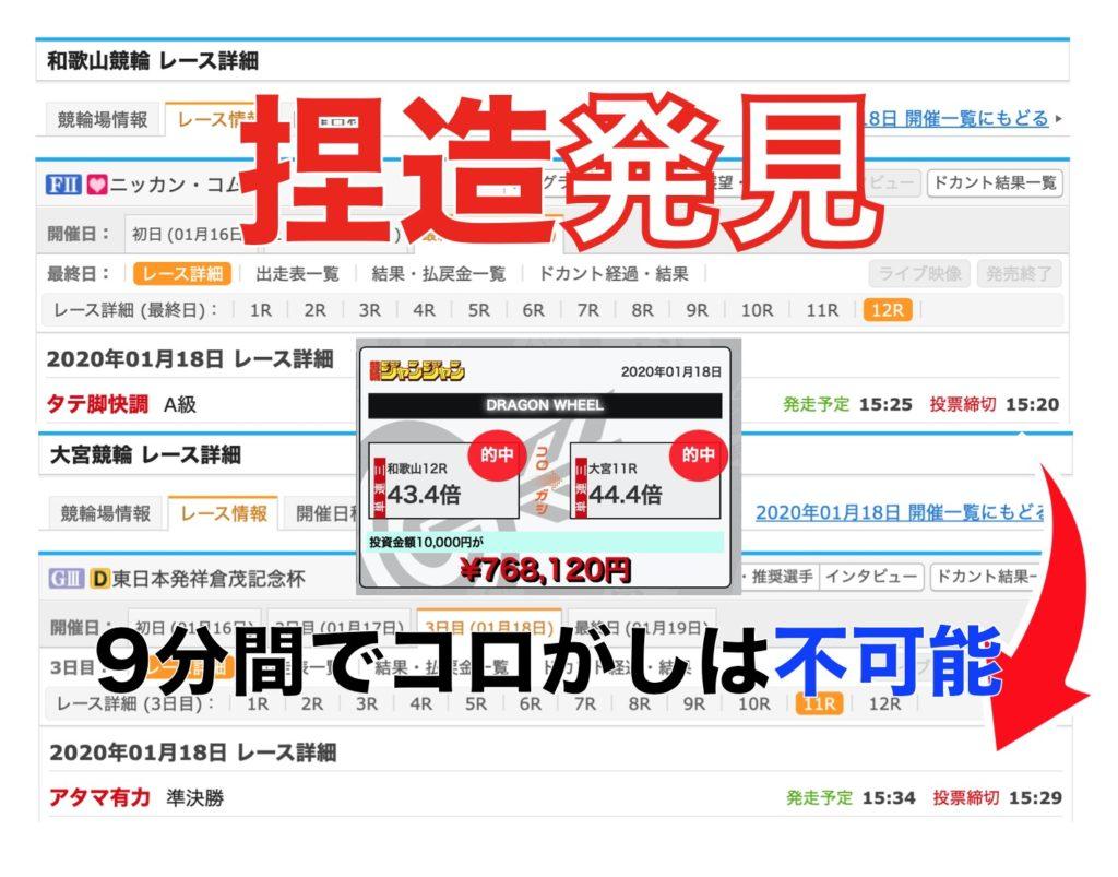 漫画競輪ジャンジャン予想サイト著作権検証口コミ集英社1