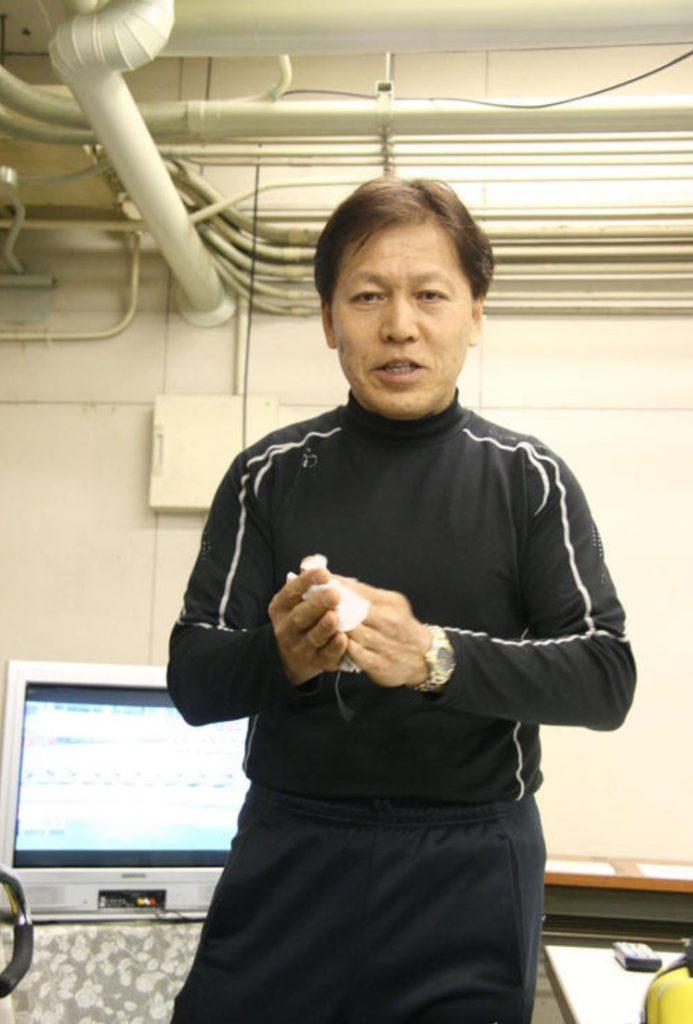 今年の1月に引退した三ツ井勉選手